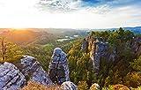 Fototapete selbstklebend Elbsandsteingebirge - Sächsische