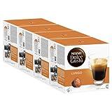 Nescafé Dolce Gusto Caffè Lungo, Kaffe, Kaffekapsel, 4er Pack, 4 x 16 Kapseln