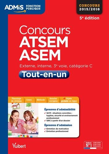 Concours ATSEM et ASEM - Tout-en-un - Catégorie C - Concours 2015-2016