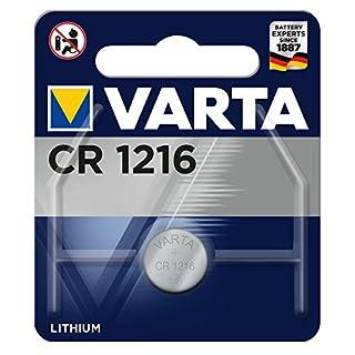 Varta 13501216 Lithium Knopfzelle CR1216, 1er Pack