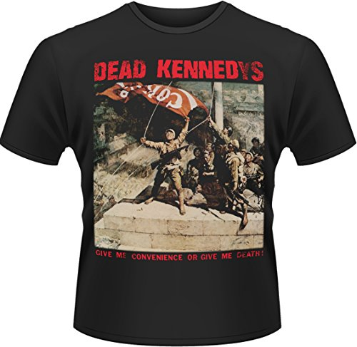 Plastic Head - Dead Kennedys Convenience Or Death, T-shirt Uomo, Nero (Black), XX-Large