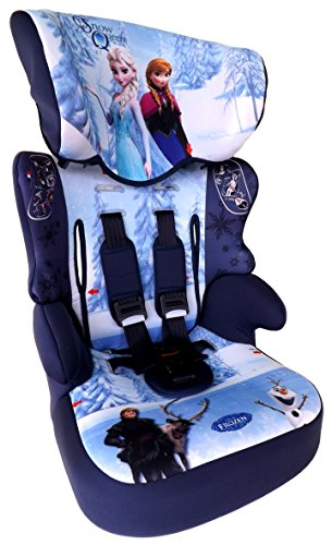 FROZEN Disney Eiskönigin Anna & Elsa Beline SP-SUBLI Kindersitz KINDER AUTOSITZ BABY SITZ GRUPPE 1/2/3 9-36kg+GRATIS Sticker & mini Haribo