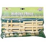 1:24 Kids Globe Farm Set Of 4 Wooden Fences by Globe