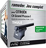 Rameder Pack Barres de Toit SquareBar pour CITROËN C4 Grand Picasso I...