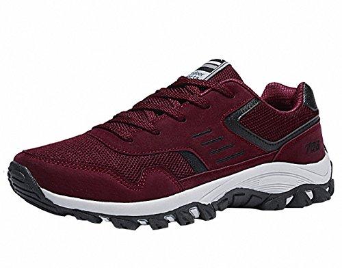 Ben Sports Scarpe da corsa su strada uomo Scarpe sportive da Sneaker Trail Running uomo rosso
