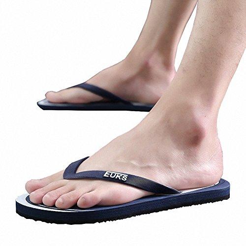Ben Sports Zehentrenner Badeschuhe Sandale Thong Flip Flops Outdoorsandalen Herren marineblau