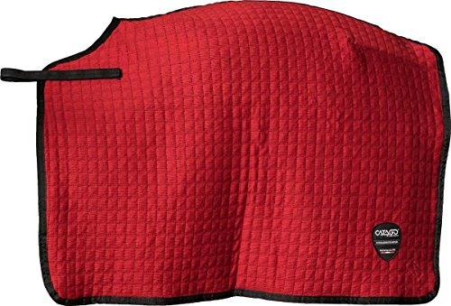 CATAGO Kühler gesteppt Übung Quarter Tabelle, rot (Tabelle Rot)