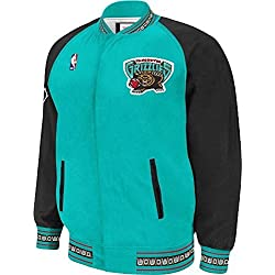 Mitchell & Ness M&N Vancouver Grizzlies NBA Authentic 95-96 Warm Up Premium Retro Jacket, Chaqueta