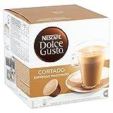 Nescafé Dolce Gusto - Cortado Espresso Macchiato - Cápsulas de café - 16 cápsulas