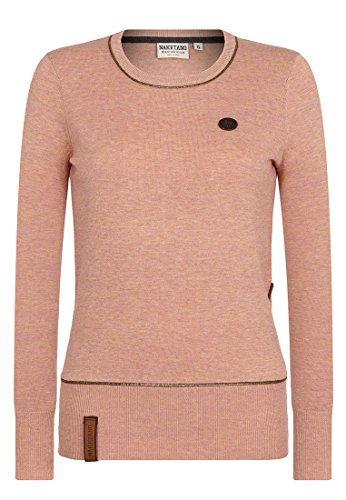 Naketano Female Knit Hammer Glocken III Fancy Apricot Melange