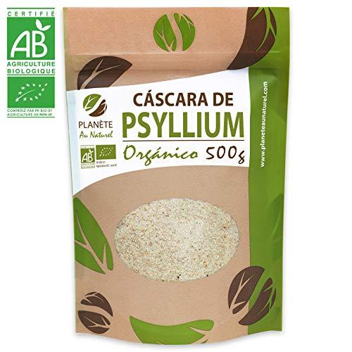 Cáscara de Psyllium Rubio Orgánico - 500g