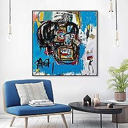 zxddzl Dekoratives Plakat und Drucke der abstrakten Art der Graffiti Segeltuchkunst-Malereiplakatwohnzimmer-Wandanstrichausgangsdekoration