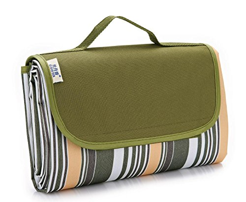Kiki Singe extérieur Couverture de pique-nique couverture arrière imperméable facile à plier et portable Tapis de plage