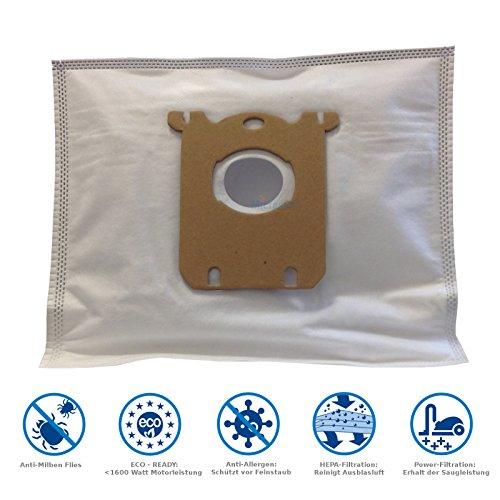 20 Bolsas de aspiradora para AEG VX7 ÖKO X Power VX7-1-ÖKO incluye 2 filtro de MicroSafe