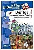 miniLÜK: Igel und andere Tiere im Garten
