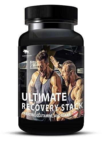 Muskelaufbau Anabol Boost: Ultimate Recovery Stack mit Creatine, Glutamine, und BCAA's (90) -