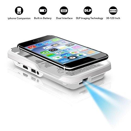 Mini Video Projektor für iPhone 66S 78x