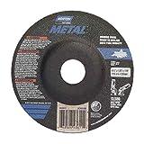 Norton 66252843611 4-1/2X1/8X7/8 in. Metal Depress Center Wheels, Alum