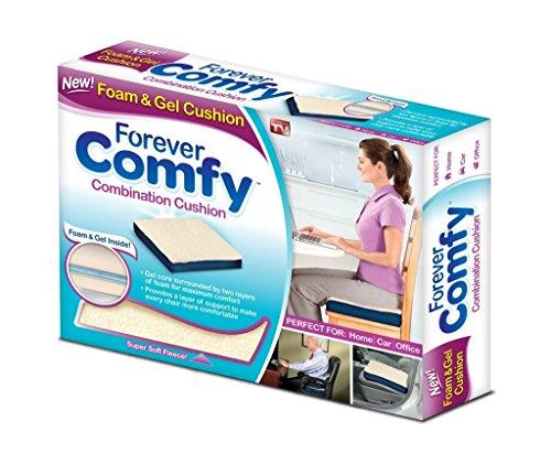 Cojin terapeutico de gel rodeado de espuma, lavable relax confort y bienestar visto en Tv