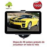 NozaTec Navegador GPS para Coche 7' con Bluetooth...