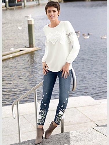 Damen Jeans aufwendig geschmückt by AMY VERMONT Blue