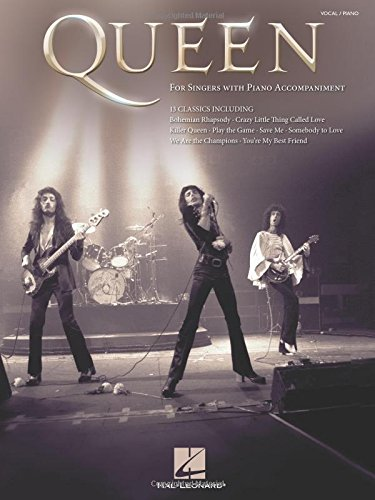 Queen: For Singers with Piano Accompaniment por Hal Leonard Publishing Corporation