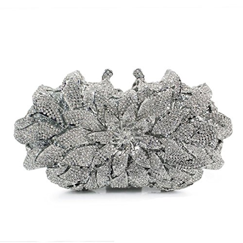 Lady Diamanti Borsa Da Sera Pochette Scatola Dura Borsa D