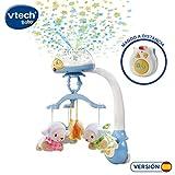 VTech - Móvil proyector cuenta ovejitas dulces sueños para el bebé, juguete de cuna con mando a distancia...