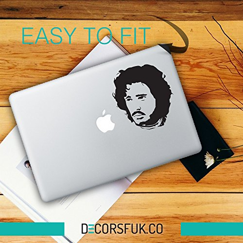 Aufkleber für MacBook, Jon Snow,Game Of Thrones, Winter is coming,house of Stark