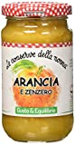 Le Conserve della Nonna Composta di Arancia e Zenzero con 70% di Frutta, Fibre e Zucchero d' Uva Italiana - 210 gr