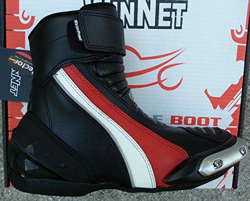 WinNet scarpe stivaletti stivali bassi con protezioni e sliders
