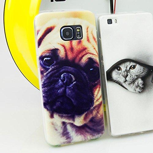 Ooh.Color® Design Cover Per iPhone 4Silicone TPU Case con motivo flessibile backcase trasparente Custodia Luxus Protect Slim, Plastica, AMA004 Delphin, für MICROSOFT LUMIA 535 Design 29