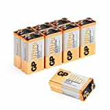 GP Batteries Ultra Alkaline 9V Pack of 8 | Superb operating time |