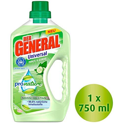 Der General Universal Pro Nature Minze und Gurke (Allzweckreiniger) 1er pack (1 x 750 ml Flasche)