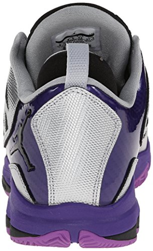 Nike Unisex-Kinder Hypervenomx Phade Iii Ic Fußballschuhe lila,silber