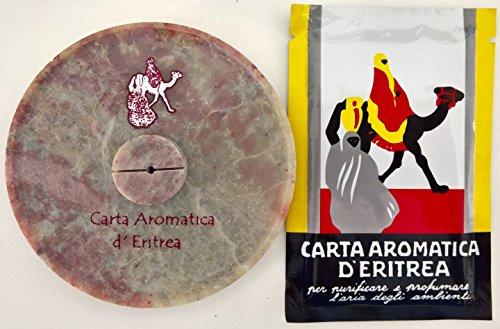 CARTA D'ERITREA 60 STRISCE + PIATTINO + CD AUDIO IN OMAGGIO