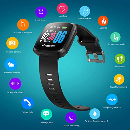 Zoom IMG-2 verpro smartwatch impermeabile orologio fitness