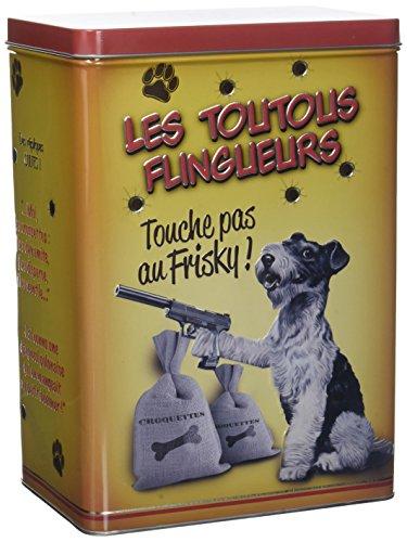 Natives die toutous Flingueurs Box Futtertonne für Hunde