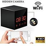 ProElite WL01 Pro Clock Hidden Spy Wireless Wifi HD IP Camera CCTV with SD card Slot (compatible with Android & iPhone)