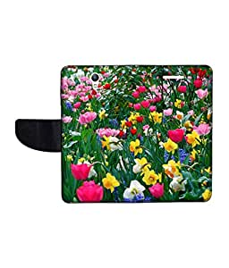 KolorEdge Printed Flip Cover For Lenovo S1 Multicolor - (1478-50KeMLogo11118LenovoS1)