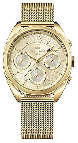 Reloj Cuarzo Dorado Tommy Hilfiger