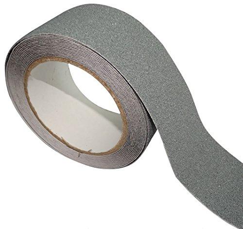Preisvergleich Produktbild Aerzetix: 5m 50mm Band Anti-Rutsch Treppenstufen Grau Rutschband für Treppen C17833