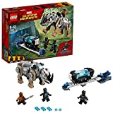 LEGO UK - 76099 Marvel Super Heroes Rhino Face-Off by the Mine Toy for Boys and Girls