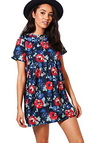 Damen Multi Petite Kara Hängerchenkleid Mit 3/4-ärmeln Multi
