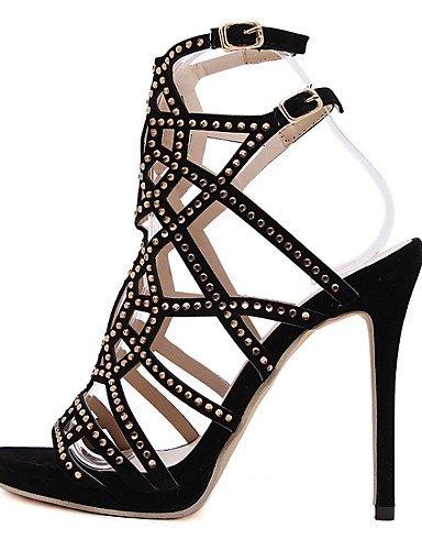 LFNLYX Scarpe Donna-Sandali / Stivali / Sneakers alla moda / Solette interne e accessori-Matrimonio / Formale / Casual / Serata e festa-Comoda / Black