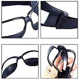AUTOECHO Basketball Sport Ansicht Anti-Blocking Training Sportbrille Brille für Radfahren Basketball Fußball Hockey Rugby Sonnenbrille mit Verstellbaren Riemen (1 STÜCKE/3 STÜCKE/6 STÜCKE/12 STÜCKE) Test