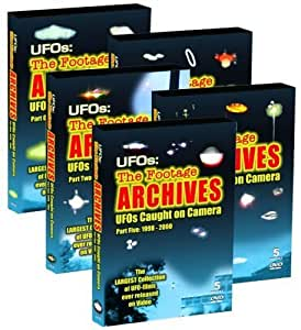 UFOs: The Footage Archives - UFOs Caught on Camera from Around the World, 5 DVD Collector's Edition by UFO Tv by Natalia Zahradnikova Michael Hesemann