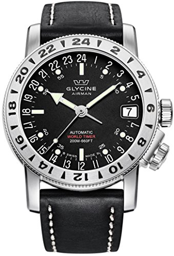 GLYCINE AIRMAN 17 orologi uomo 3917.19-66 LB9B
