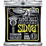 Ernie Ball 3121 Coated Titanium RPS Regular Slinky 10-46 String Set