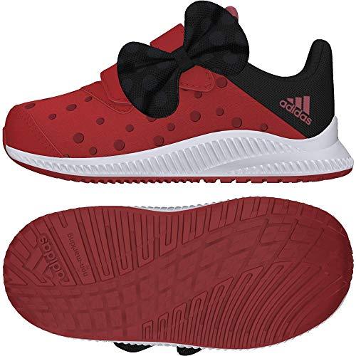 adidas Unisex Baby DY Minnie Fortarun Cloudfoam Sneaker Rot (Hirere/Ftwwht/Cblack) 21 ()